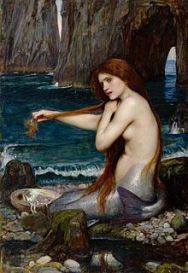 A Mermaid - John William Waterhouse (1849 - 1917)